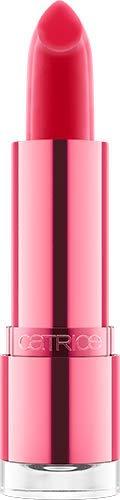 Catrice Watermelon Shine Glow Lip Balm, Lipstick, Lippenstift, Nr. 010 I Carried A Watermelon, rot, farbanpassend, pflegend, schimmernd, scheinend, strahlend, vegan, ohne Alkohol (3,5g)