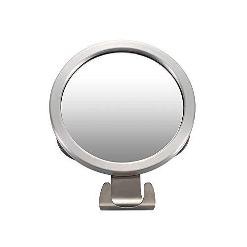 Donpow spiegel zonder mist, scheerspiegel met 3 sterke zuignappen en kleine spiegel met scheerhaken in de badkamer