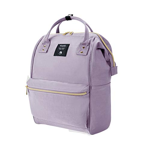 KALIDI Casual Daypack Lightweight School Bag Laptop Backpack Rucksack Water-Resistant Travel Backpack fits 15 inch MacBook Laptop for Boys Girls Men and Women,Purple
