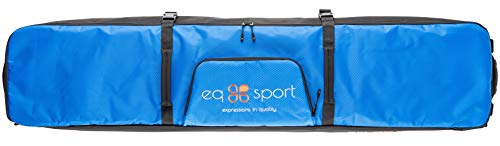 EQ Sport Fully Padded Travel Snowboard Bag with Wheels