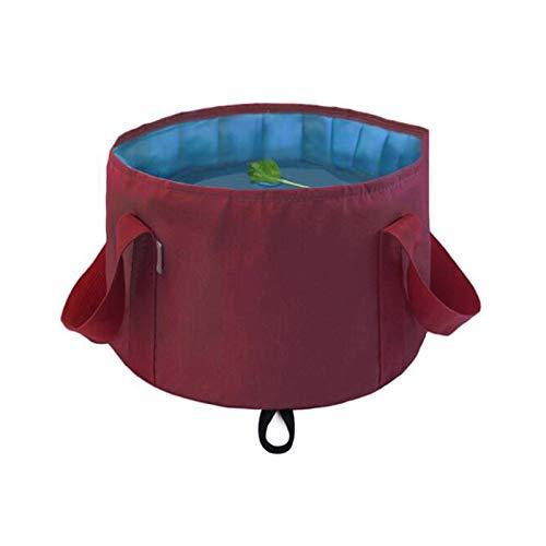 JISHIYU Cubo plegable para pies de remojo, bañera portátil de viaje, cubo de agua multiusos para camping, picnic, interior y exterior