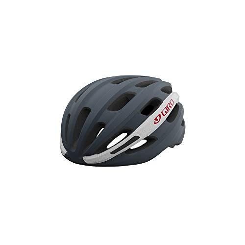 Giro Isode MIPS Adult Recreational Bike Helmet - Matte Portaro Grey/White/Red (2021) - Universal Adult (54-61 cm)
