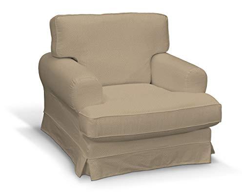 Dekoria Ekeskog Sesselbezug Husse passend für IKEA Modell Ekesgog beige-Creme