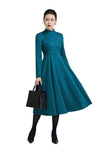 BHUTAIYA Black Color Full Length Western Dress for Women