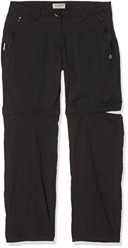 Craghoppers Kiwi Pantalon Outdoor Pro Conv TRS 46 Noir