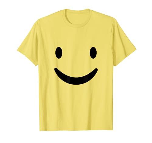 Smily Face T Shirt Yellow Smiley Face Shirt Halloween T-Shirt