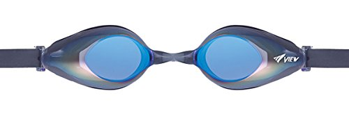 VIEW Schwimmbrille Solace Mirror, Black/Blue, V-825AMR BK/BL