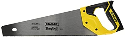 Stanley 20-526 15-Inch 12-Point/Inch SharpTooth Saw