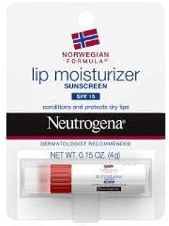 Neutrogena Norwegian Formula Lip Moisturizer With Sunscreen, Spf 15,.15 Oz. ( Pack of 12)