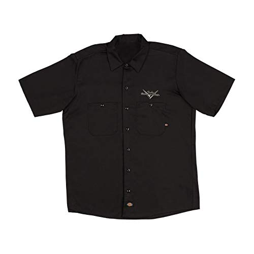 Fender Custom Shop Adler Arbeitsshirt, Schwarz L