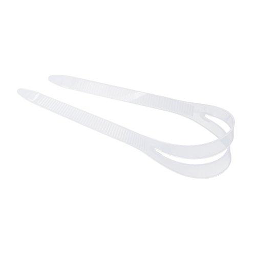 MagiDeal Ersatzband für Taucherbrille Tauchmasken, Silikon - Klar S
