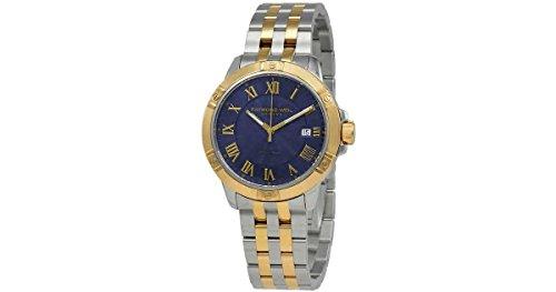 Raymond Weil Herren Analog Quarz Uhr mit Edelstahl Armband 8160-STP-00508