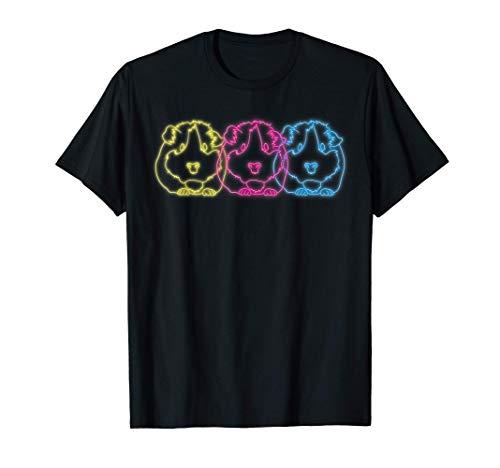 Retro 80er Meerschweinchen Outfit Kleidung Geschenk Kinder T-Shirt