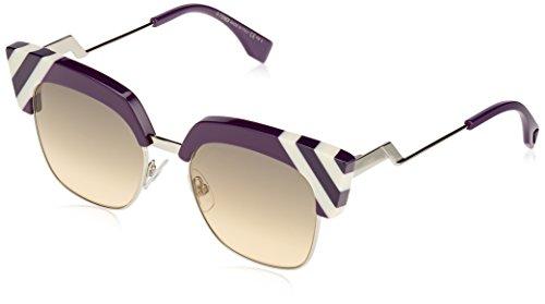 Fendi Fendi Sun FF 0241/S B3V/GA -50 -18 -140 Fendi Cateye Sonnenbrille 50, Purple