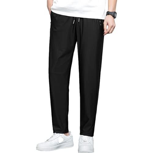 Pantalones Casuales para Hombre Pantalones Deportivos Holgados cómodos de Moda con diseño de Bolsillo con...