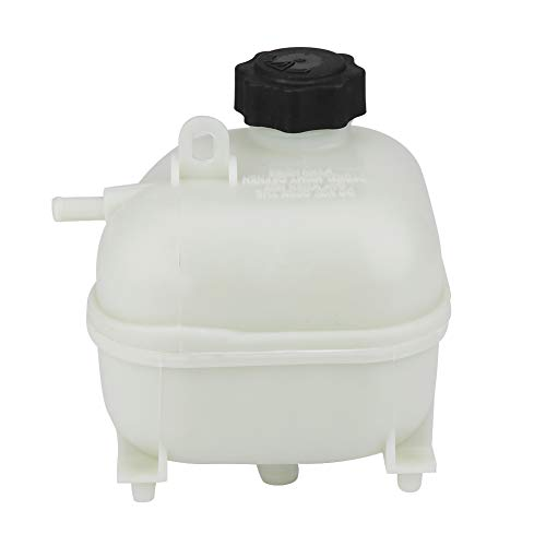 Qiilu Expansion Tank with Cap,17137529273 Car Engine Expansion Tank Header Bottle for MINI R52 R53 S