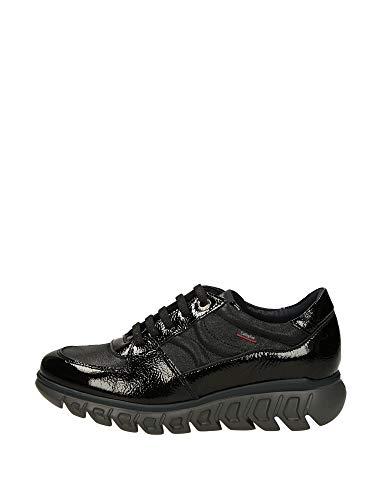CALLAGHAN 13913 Sneakers, para Mujer, Color Charol Negro. - Cuero Talla: 41