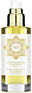 Moroccan Rose Otto Gold Glow Perfect Dry Oil - 100ml By Ren