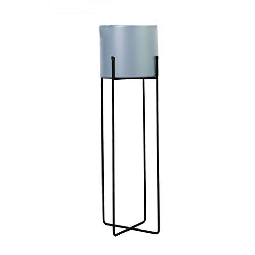 Zuoanchen Nordic smeedijzer, bloemenrek, tv-kast, eenvoudige afzonderlijke hoek, indoor thuiskantoor, groene rammenrek, vrije installatie, enkele laag