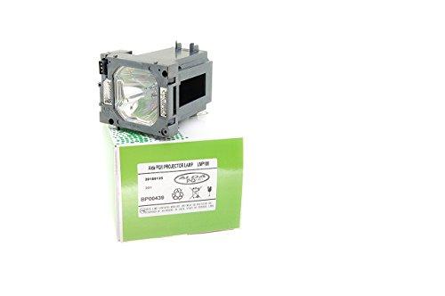 Beamerlamp POA-LMP108 / 610-334-2788 voor Sanyo PLC-XP100 / PLC-XP100L / LP-XP100L(W) EIKI LC-X80 projectoren, Alda PQ® lampmodule met behuizing