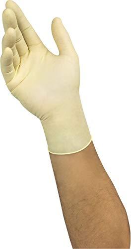 Ansell Microflex 63-864 Gants Jetables Latex Non Poudrés, Gant Très Fin et Ambidextre, Protection Chimique, Mécanique, Industrie Alimentaire, Gants Usage Unique Haute Qualité, Taille M (100 Gants)