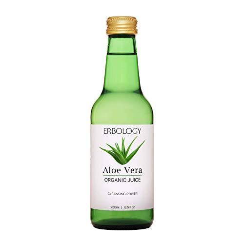 Succo di Aloe Vera Bio 250ml - Dalla Foglia Interna - Ricco di Acemannano