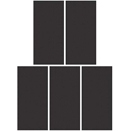 Garneck Juego de Papel de Lija de 5 Piezas Papel Abrasivo para Acabado de Muebles de Madera Lijado de Metales Pulido Automotriz Lijado en Seco Y Húmedo 9X3. Color Aleatorio de 6 Pulgadas