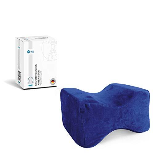 N-PIR Cuscino in memory foam di alta qualità per chi dorme sul fianco. Concetto migliorato 2021. Cuscino ergonomico per le gambe per dormire, in memory foam, marchio tedesco 2.0