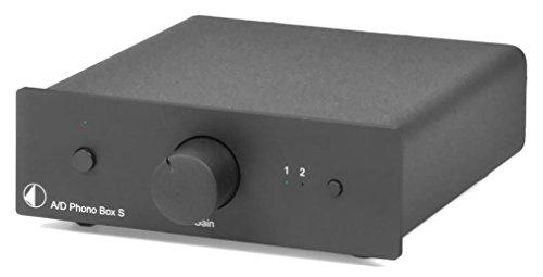 Pro-Ject A/D Phono Box S (Schwarz)