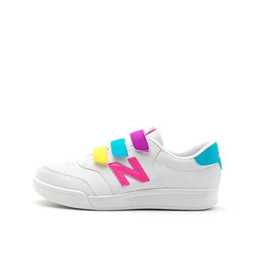 New Balance Zapatillas Kids Lifestyle White Lolipop Synthetic Mesh, Unisex Niños 29 EU