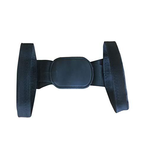 GOKOMO Haltungskorrektur FüR Eine Aufrechteren Haltung Professioneller RüCkenstüTze Haltungstrainer Damen Herren GrößEnverstellbar(Schwarz,One Size)