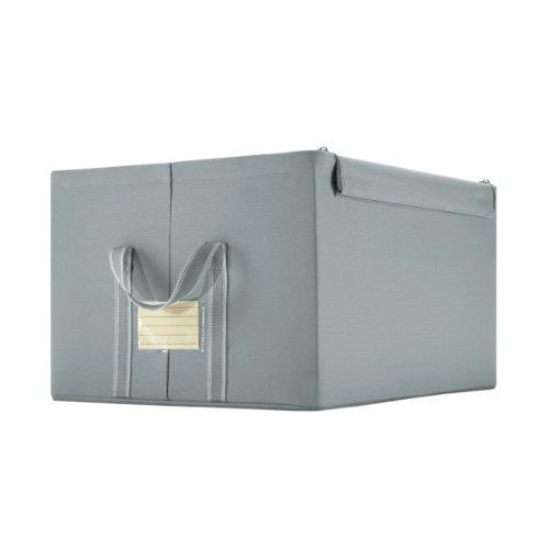Reisenthel storagebox L grey Maße: 50,5 x 28,5 x 40 cm / Volumen: 60 l