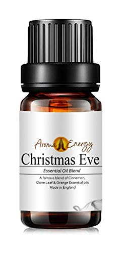 Christmas Eve (50ml) - Pure Cinnamon, Clove & Orange Essential Oil Blends – Christmas & Winter Fragrances – Aromatherapy, Diffuser Oils, Oil Burner, Meditation, Yoga
