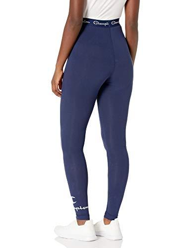 Champion Women's Authentic Leggings, Athletic Navy, S