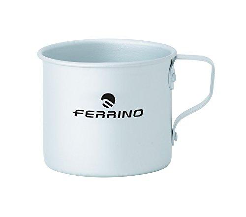 Ferrino, Tazza in Alluminio, 8 cm Grigio, 8 cm