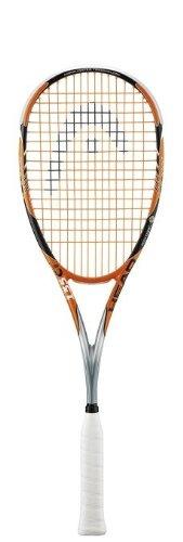 Head–Raqueta de Squash para Hombre Xenon 135CT, Color Naranja/Blanco/Negro, L3