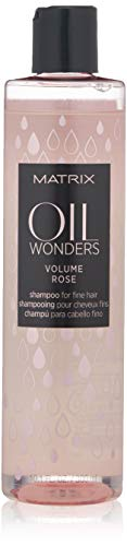 MATRIX Oil Wonders Volume Rose Shampoo | Nourishing Volume | Silicone-Free | For Fine Hair | 10.1 Fl. Oz.