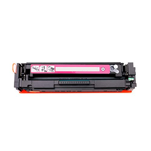 GYYG Compatible para HP Color Laserjet Pro M252 M252N M252DW M274N M277N M277DW Impresora para HP CF400A Reemplazo de Cartucho de tóner 201A con Chip fácil de Instalar Magenta