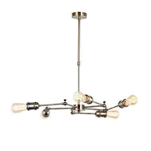 interfan Vintage 5L lampe suspension e27, cuir