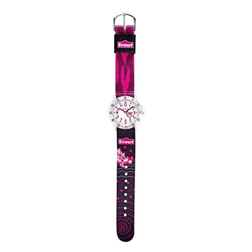 Scout Mädchen-Armbanduhr Analog Quarz Textil 280378069