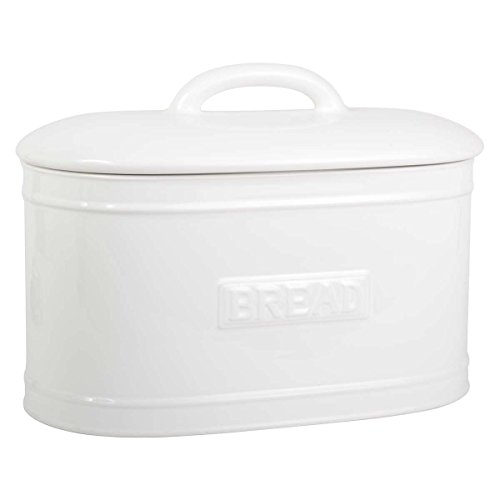 IB Laursen Brotbox oval Weiss