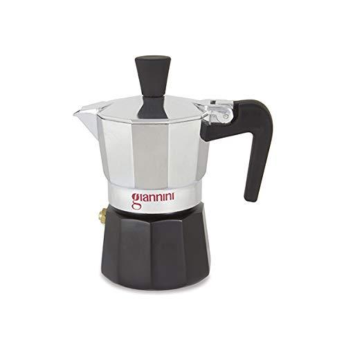 Giannini NE6483 Nina - Cafetera (6 tazas, no tóxica), color negro