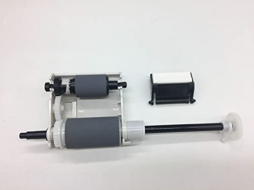 2 JUEGOS de piezas de la impresora Almohadilla de separación del rodillo de recogida del ADF Accesorios de repuesto de repuesto Compatible con Samsung SCX 4521 4521F 4321 4725 Compatible con Xerox PE2