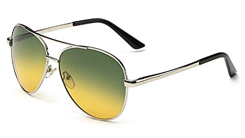 ZYIZEE Gafas de Sol Gafas de Sol Hombre Conducción Gafas de Sol Hombre Moda Gafas Retro de Sol Feminino-D