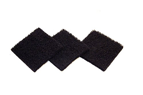 Best Price Exaco ECO 2500 Pack of Three Replacement Carbon Filters for Kitchen Compost Collector