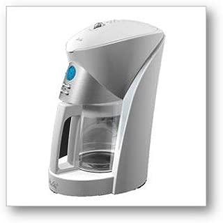 Melitta MEFB6W 12 Cup Fast Brew Digital Programmable Coffee Maker, white