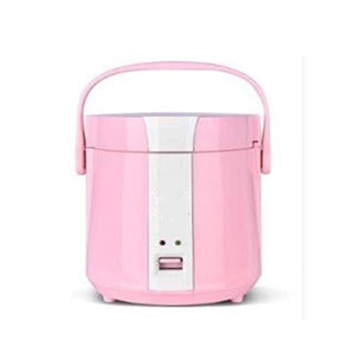 Kleine Elektroherd, Hot Pot mit Stahl Gesunde Inner Topf leicht zu reinigen Heizung Beweglicher Hauptküchengerät (Farbe: Orange) (Farbe: blau) lalay (Color : Pink)