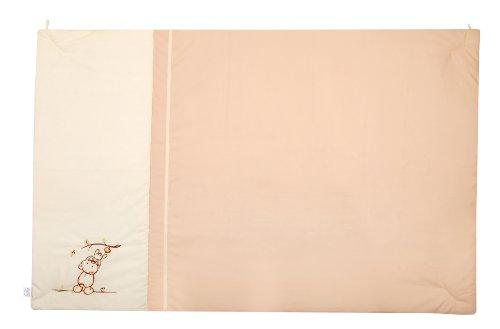 Julius Zöllner 9520010310 Tapis de jeu motif ours et pomme, 95 x 135 cm