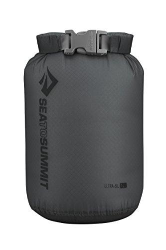 Sea to Summit Ultra-SIL Dry Sack, Ultralight Dry Bag, 1 Liter, Grey