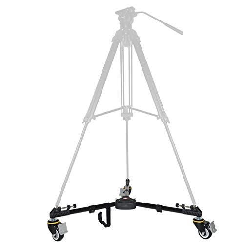 NVSBLT Stativ Dolly VX600D, Tragen Trolley Mit Easy Spin Gummiräder - Maximale Belastung 20 Kg
